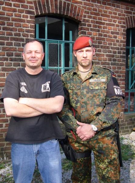 Jim Wagner und Dominik Klose